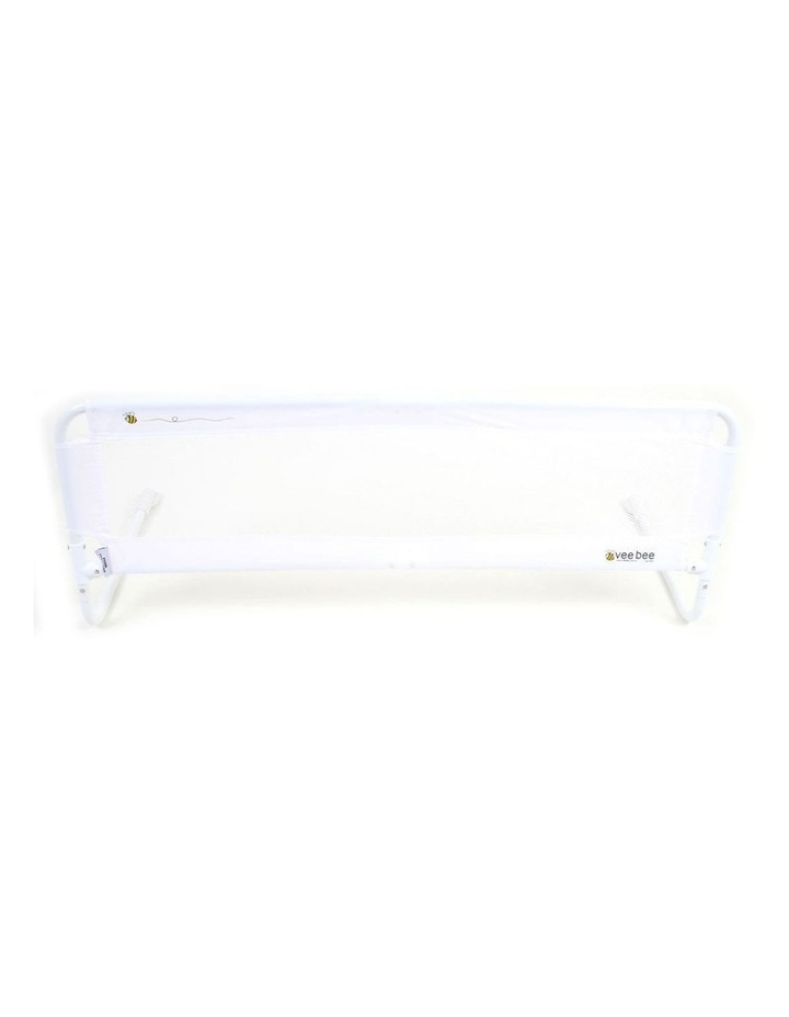 105cm White Safety Cot/Bed Rail Guard image 1