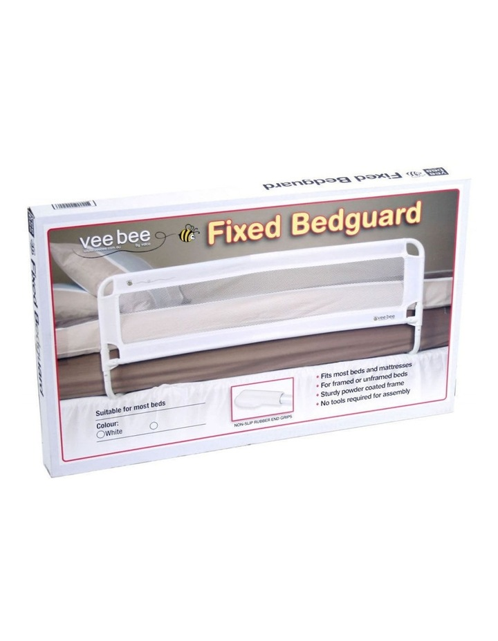 105cm White Safety Cot/Bed Rail Guard image 2