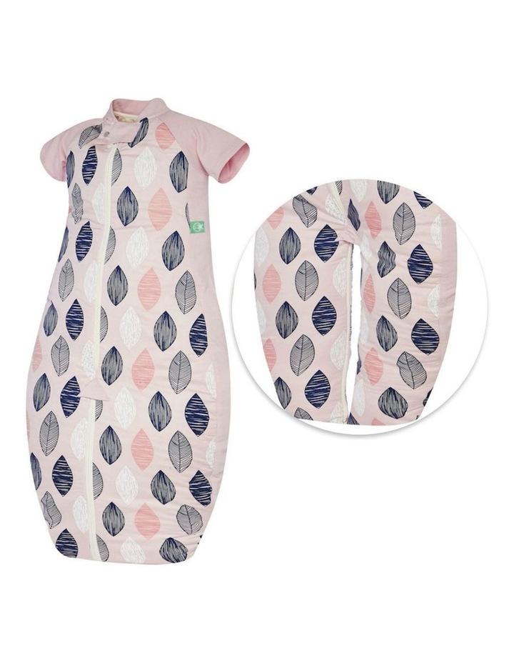 Sleep Suit Bag Size: 2-12 Months TOG: 1 - Pink Leaf image 6