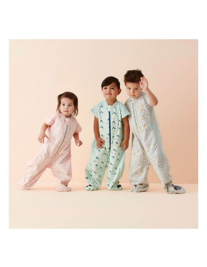Ergo Pouch Sleep Suit Bag: 2 - 4 Years - 1.0 TOG - Spring Leaves image 7