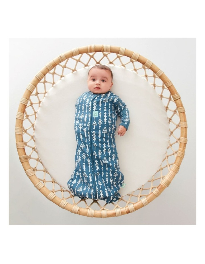 Cocoon Swaddle Bag: 0-3 Months - 1.0 TOG - Midnight Arrows image 3
