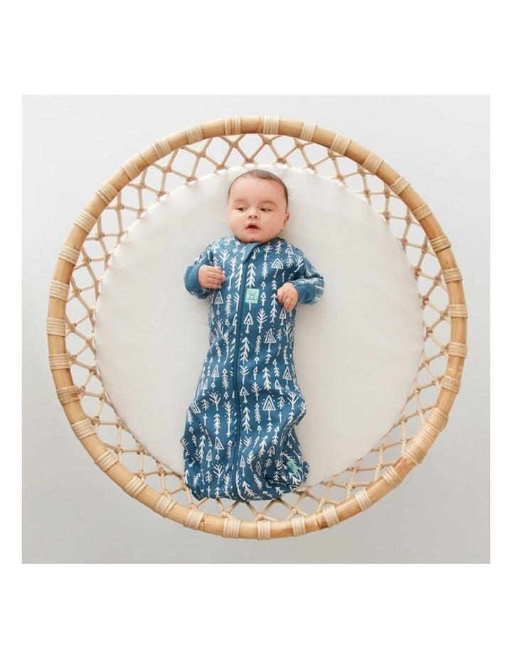 Cocoon Swaddle Bag: 0-3 Months - 1.0 TOG - Midnight Arrows image 4