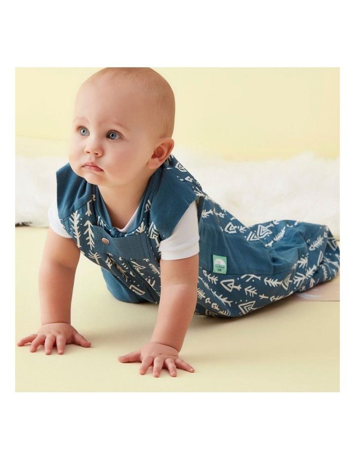 Sheeting Sleeping Bag: 2 -12 Months - 1.0 TOG - Midnight Arrows image 4