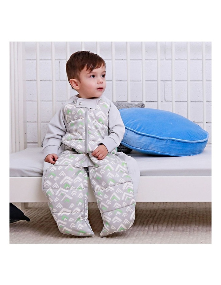 Sleep Suit Bag TOG:2.5 Size: 8-24 Months - Grey Mountains image 4