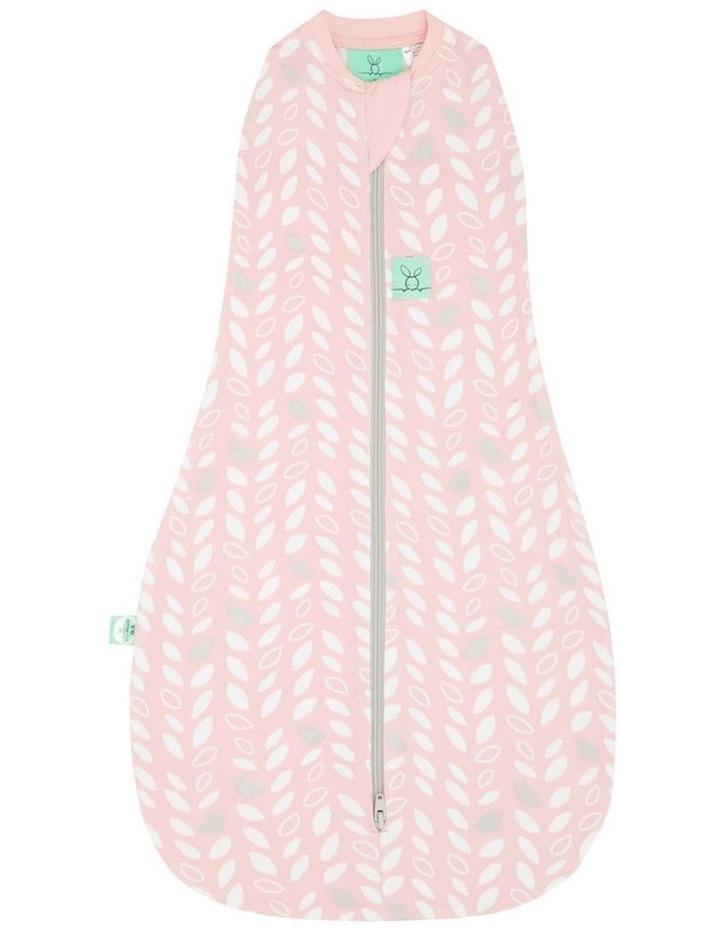Cocoon Swaddle Bag: 0 -3 Months - 1.0 TOG - Spring Leaves image 1