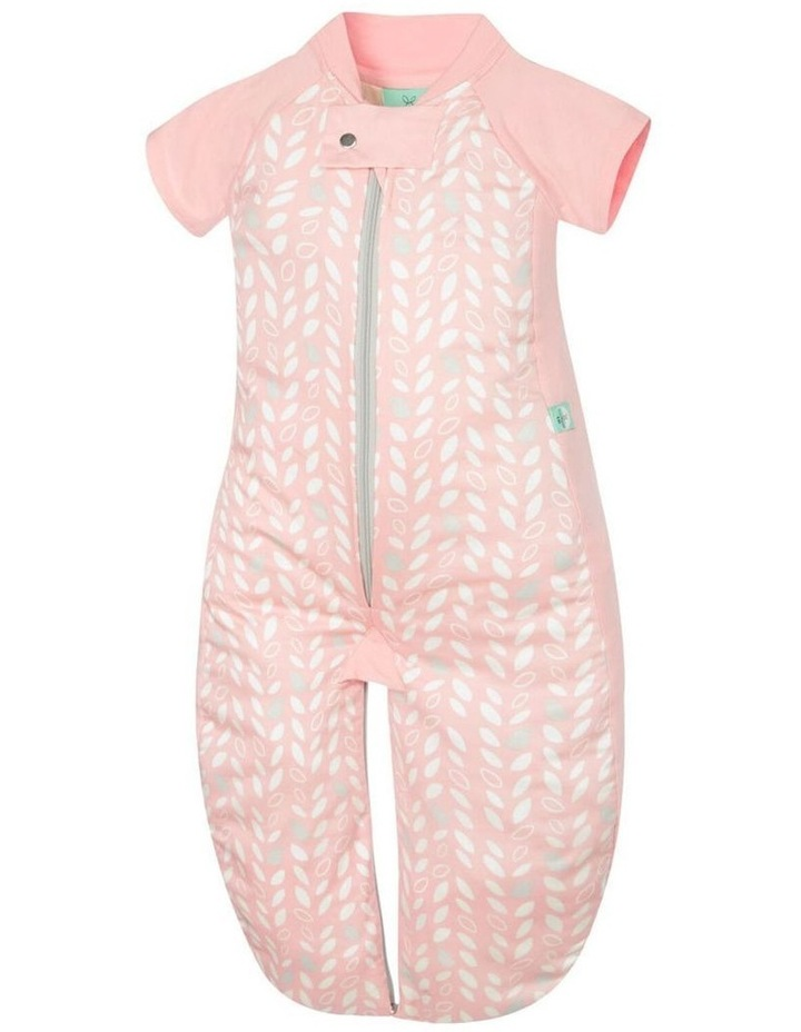 Ergo Pouch Sleep Suit Bag: 8 -24 Months - 1.0 TOG - Spring Leaves image 1