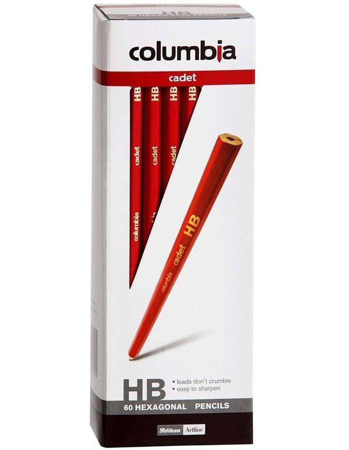 60pc Cadet Haxagonal HB Pencils image 1