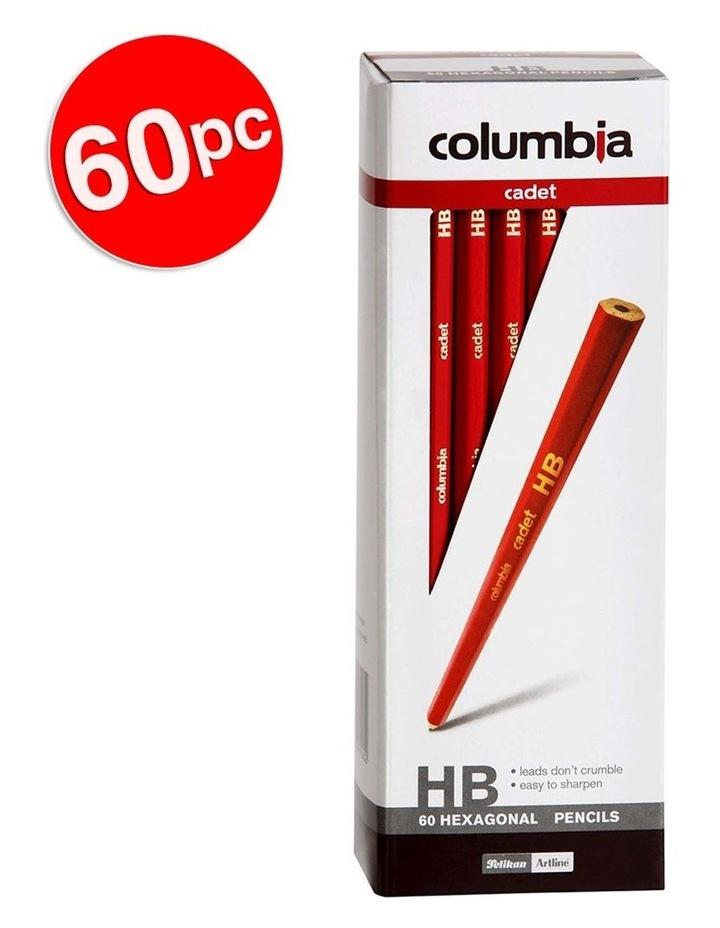 60pc Cadet Haxagonal HB Pencils image 2