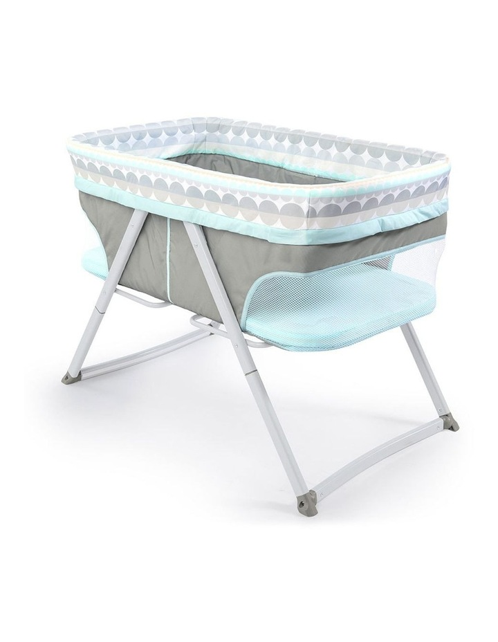 FoldAway Rocking/Sleeping Bassinet/Cradle Babies/Newborn - Juniper image 3