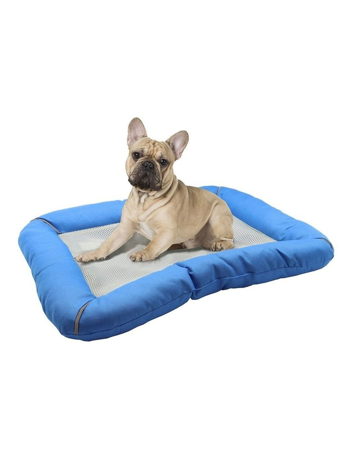 80cm Pet Bed w/ Cooling Gel Mat Insert image 1