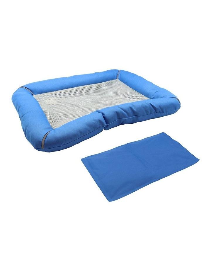 80cm Pet Bed w/ Cooling Gel Mat Insert image 2