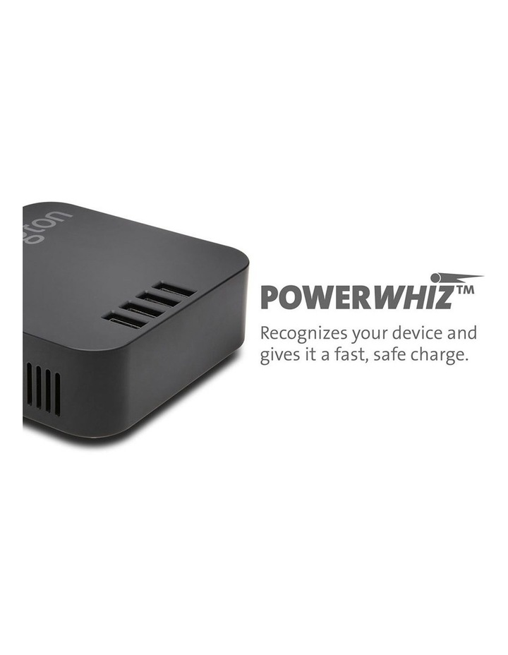 48W 4-Port x 2.4 AMP USB Charger/Simultaneous Charging/Optimised Power image 4