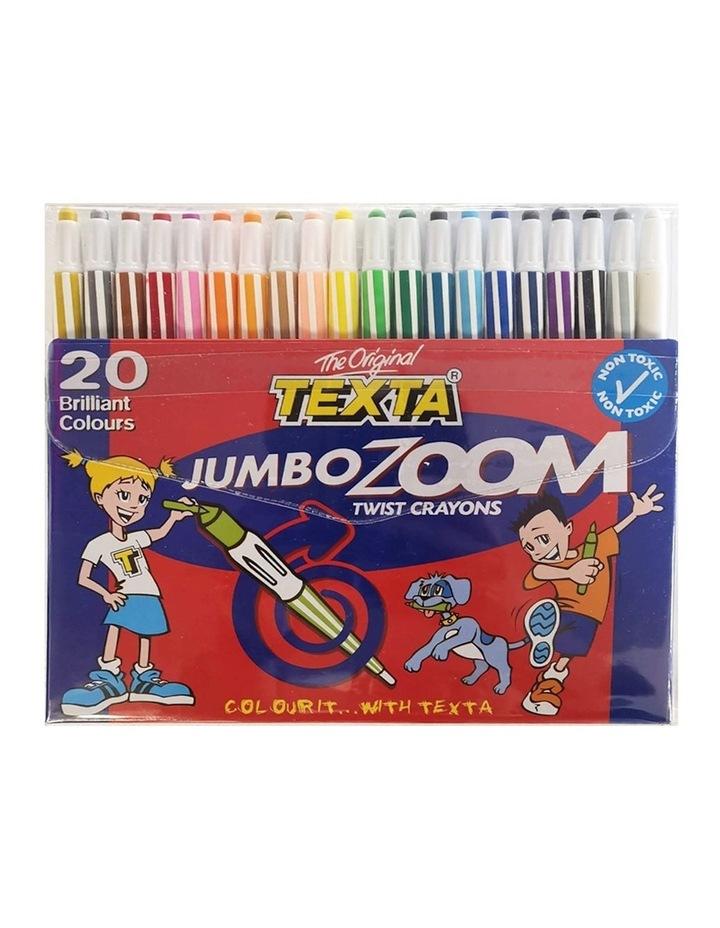 20pc Jumbo Zoom Twist Crayons image 1