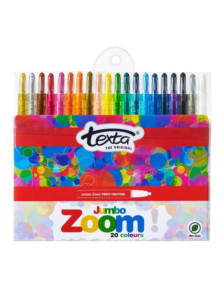20pc Zoom Jumbo Twist Crayons image 1