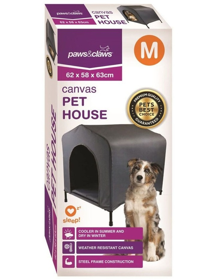 Elevated Canvas Pet House - Medium image 4