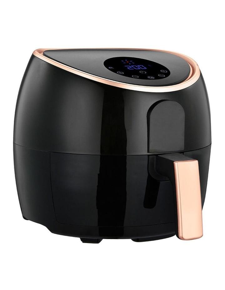 7.1L Digital Air Fryer - Rose Gold/Black image 4