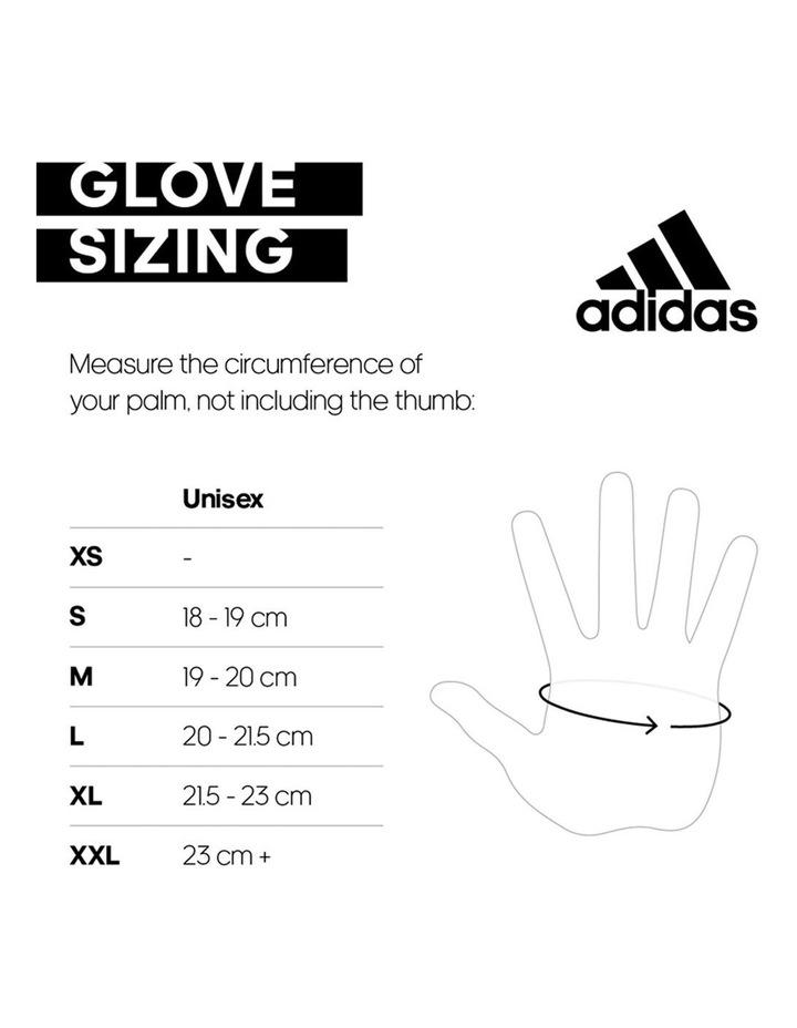 Essential Adjustible Gloves - White - XL image 2