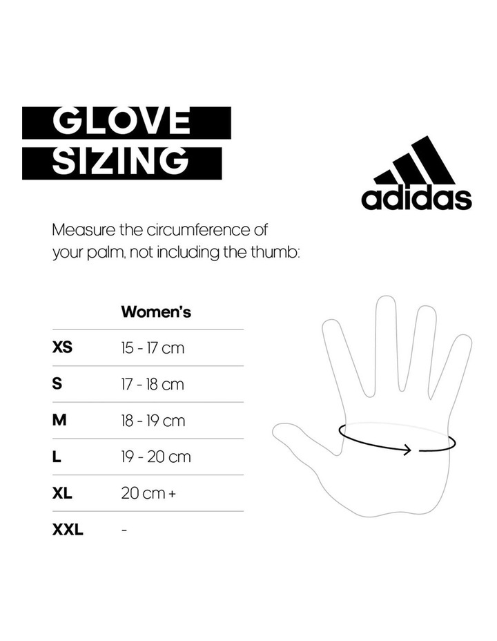 Performance Womens Gloves - Orange - Medium image 2