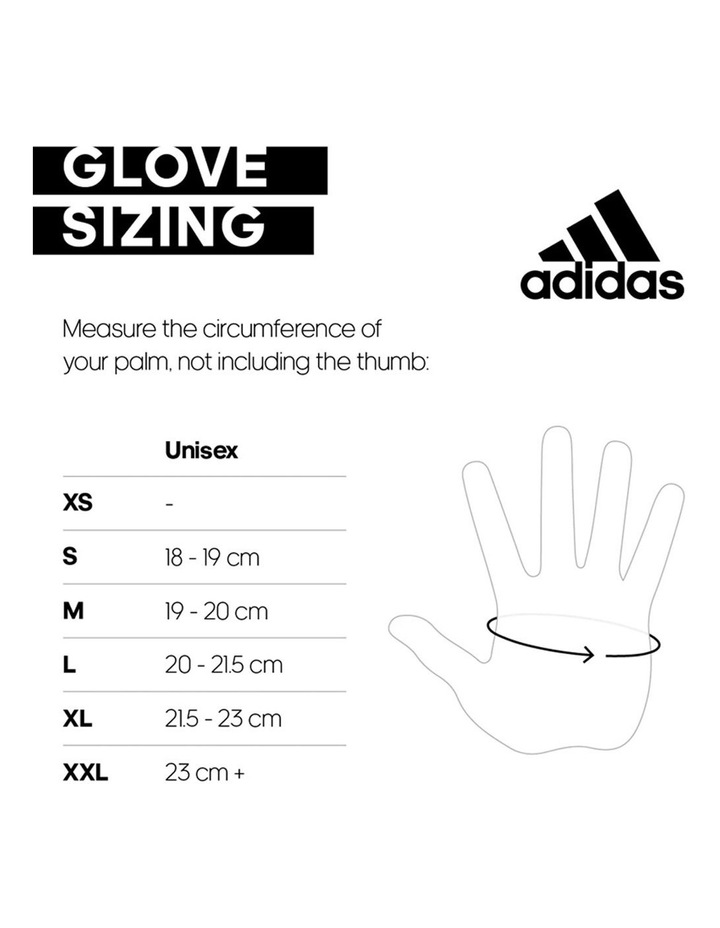 Essential Adjustible Gloves - White - Small image 2