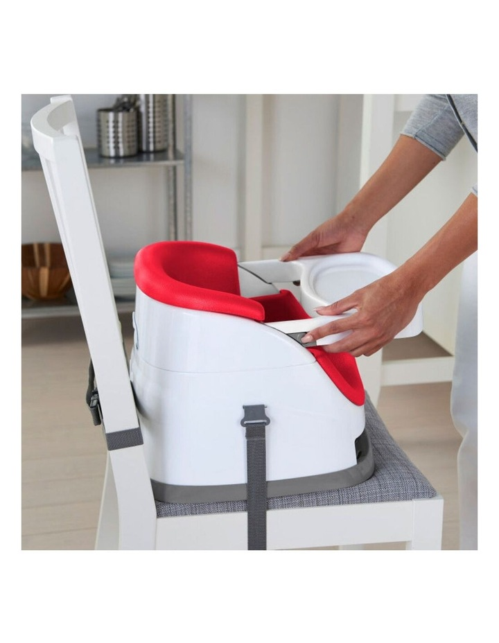 Baby Base 2-in-1 Booster Seat - Red image 2