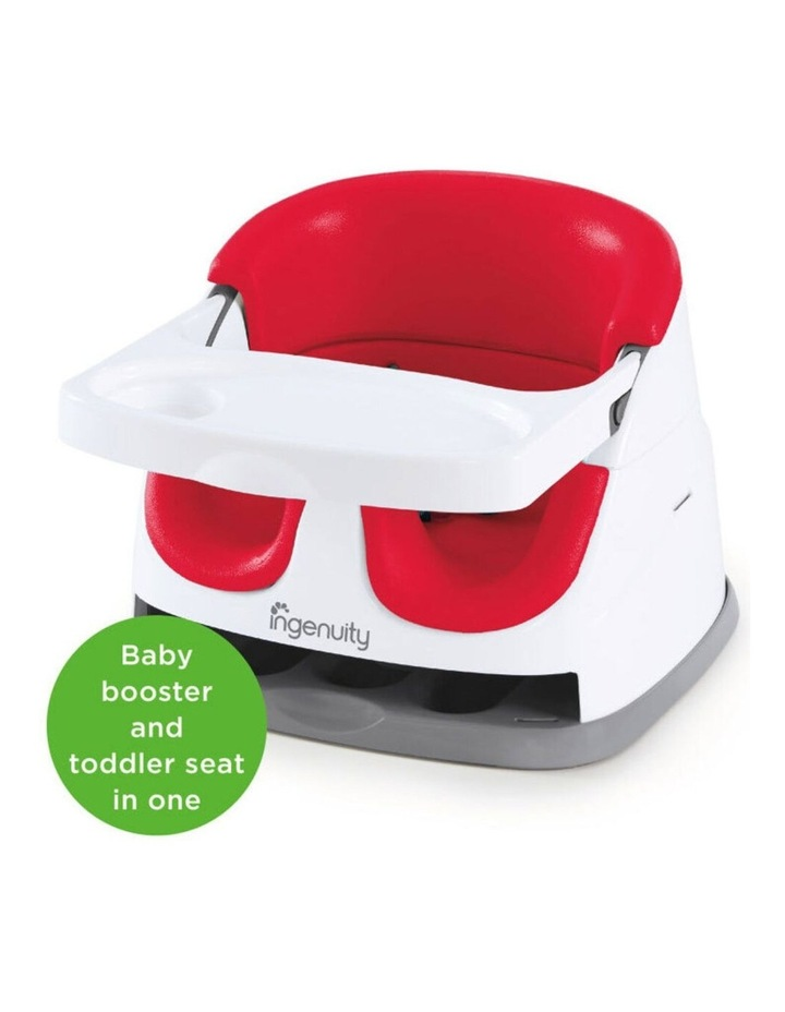 Baby Base 2-in-1 Booster Seat - Red image 4