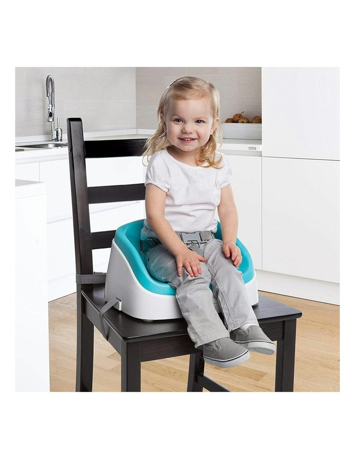 SmartClean Toddler Booster - Peacock Blue image 2