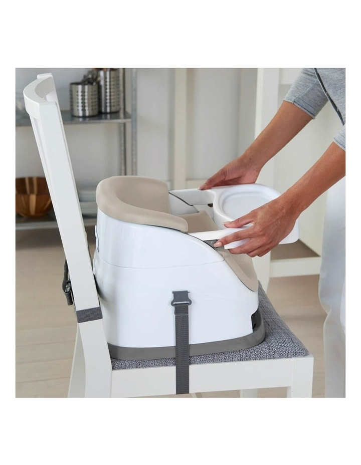 2 in 1 Baby Feeding  Booster Chair Seat - Cashmere image 2