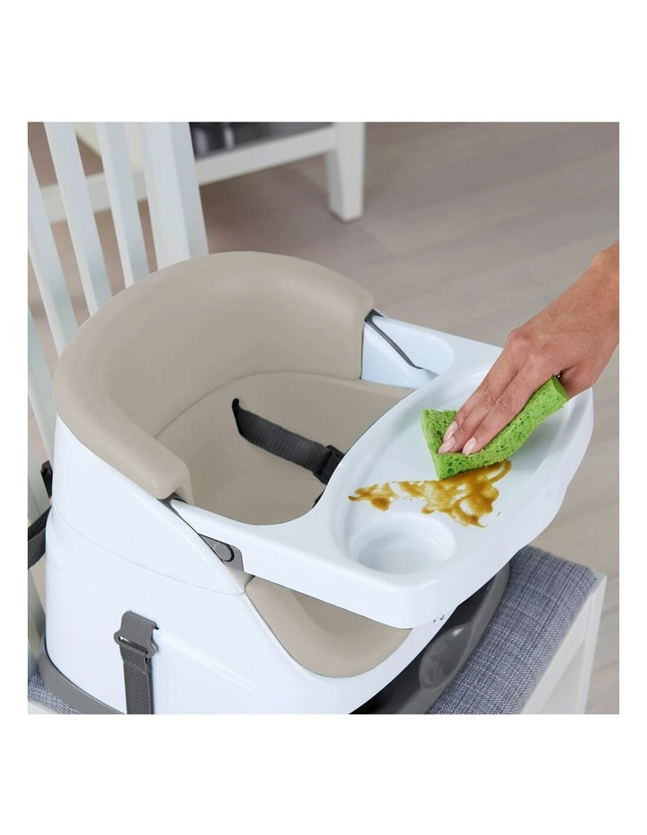 2 in 1 Baby Feeding  Booster Chair Seat - Cashmere image 3