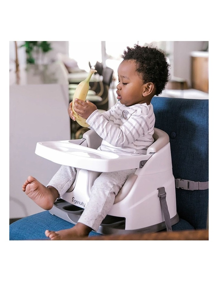 2 in 1 Baby Feeding  Booster Chair Seat - Cashmere image 7