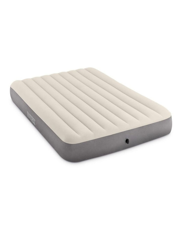 Dura-Beam Deluxe Single High Airbed - Queen Beige image 2