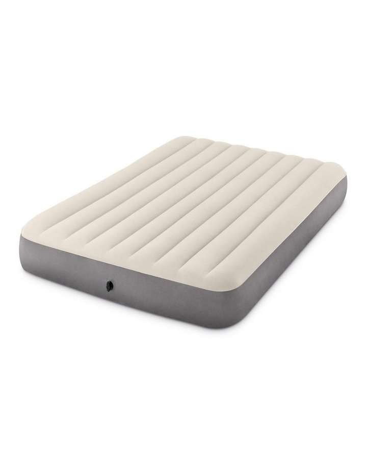 Dura-Beam Deluxe Single High Airbed - Queen Beige image 3
