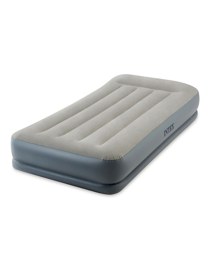 Dura-Beam Pillow Rest Mid-rise Airbed - Single Beige image 1