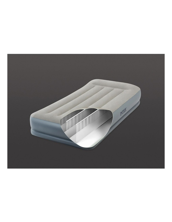 Dura-Beam Pillow Rest Mid-rise Airbed - Single Beige image 3