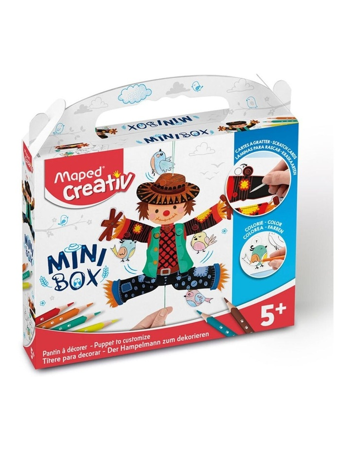 Mini Box Puppet To Customize Kids Activity 5y  image 7