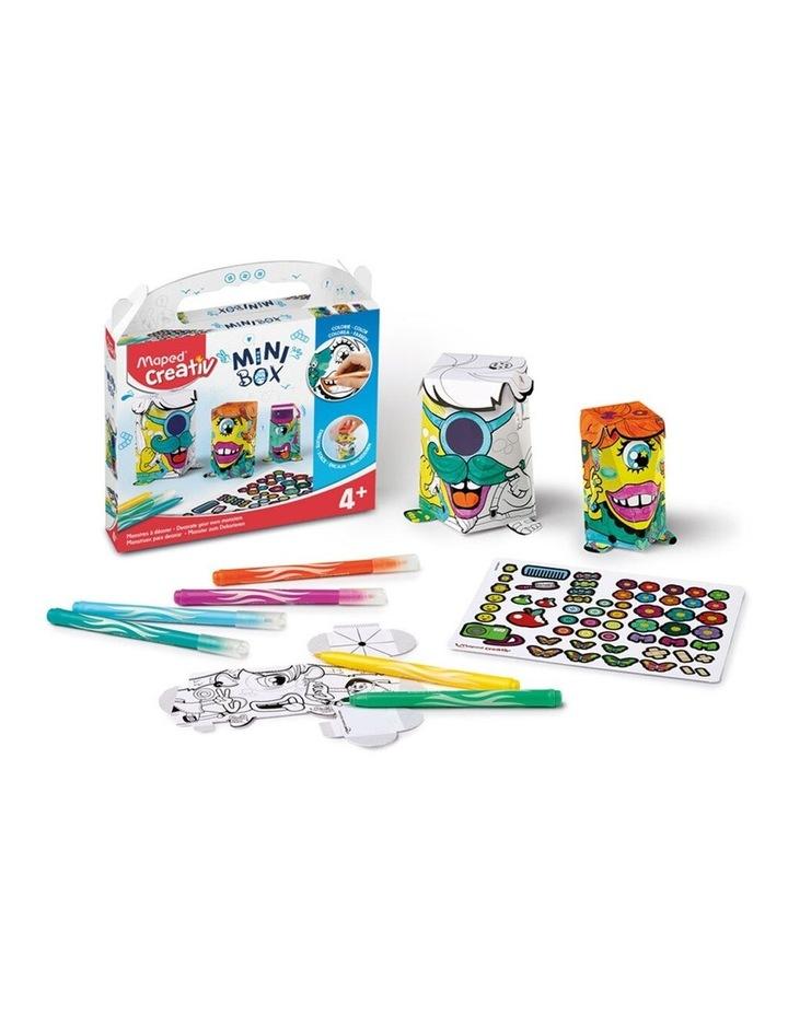 Mini Box Monsters Kids Activity 4y  image 1
