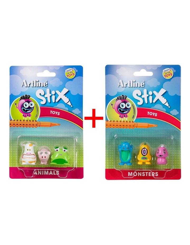 Stix 3PK Monsters Toys for Stix Drawing Pen image 1