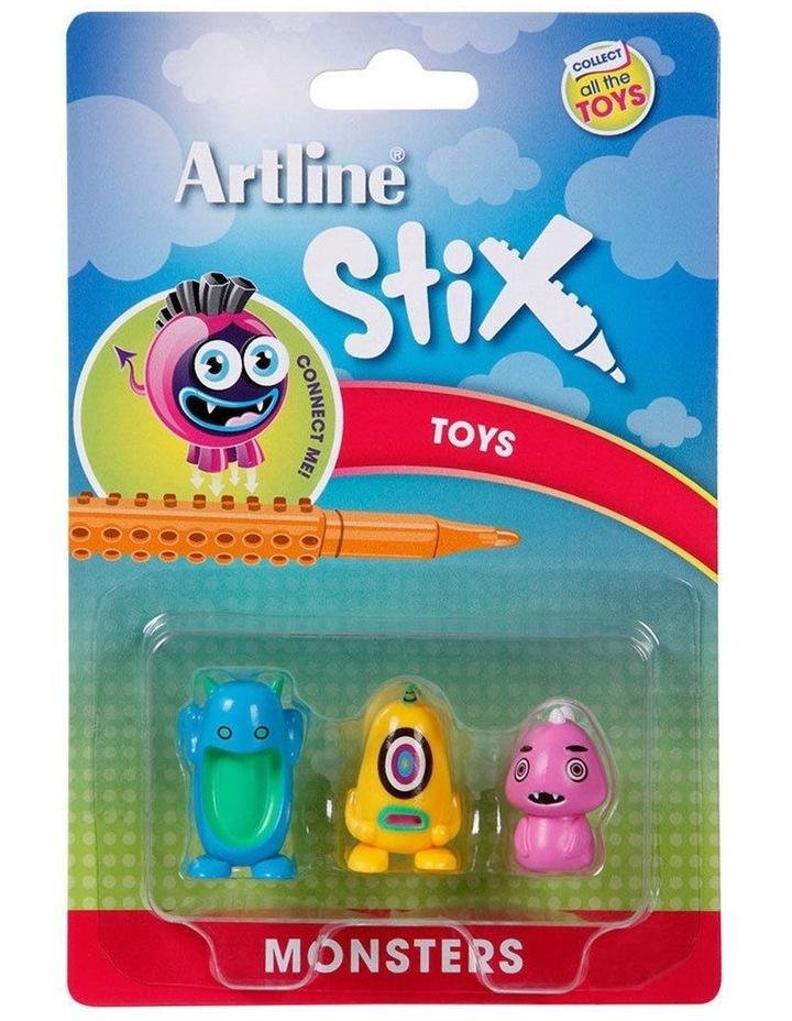 Stix 3PK Monsters Toys for Stix Drawing Pen image 2