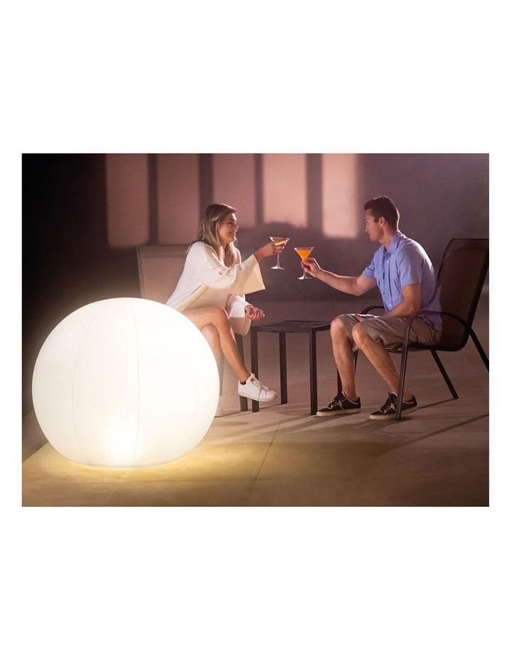LED Floating Inflatable Globe Light image 2