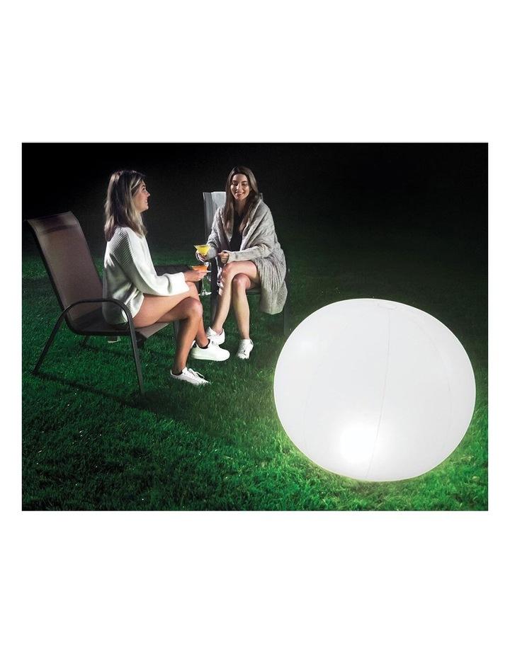 LED Floating Inflatable Globe Light image 3