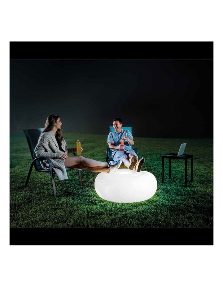 LED Inflatable Ottoman Light image 2