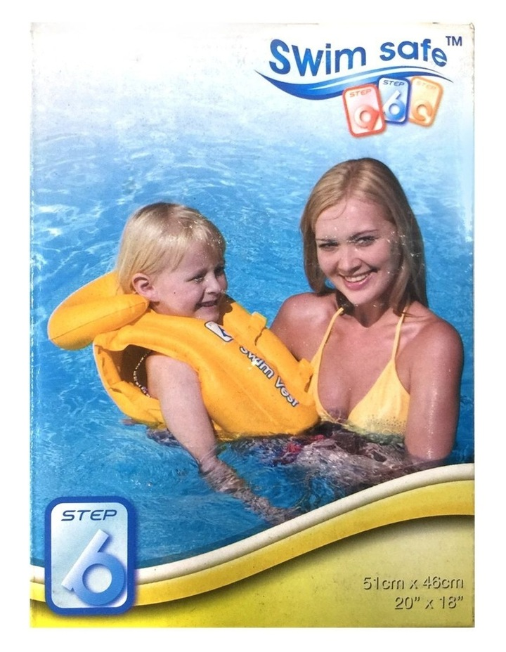 Kids Swimming Safe Inflatable Vest - Yellow image 1