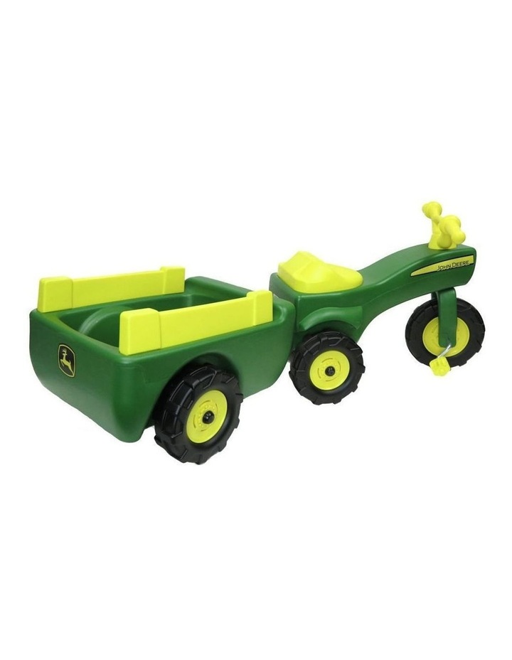 Ride On Pedal Trike Tractor & Pull Wagon Kids Children Toy Tricycle image 2