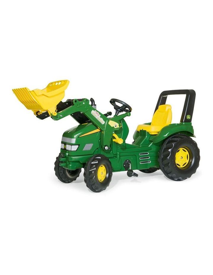 X-Trac Ride-On Tractor Toy with Loader image 1