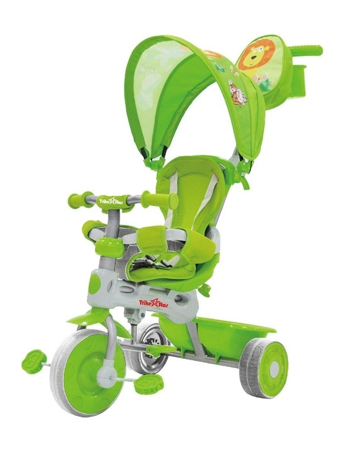 3-In-1 Grand Comfort Tricycle - Green image 1