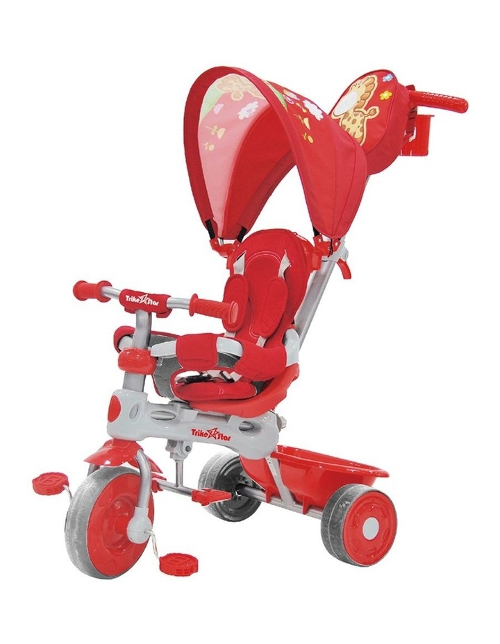 3-In-1 Grand Comfort Tricycle - Red image 1