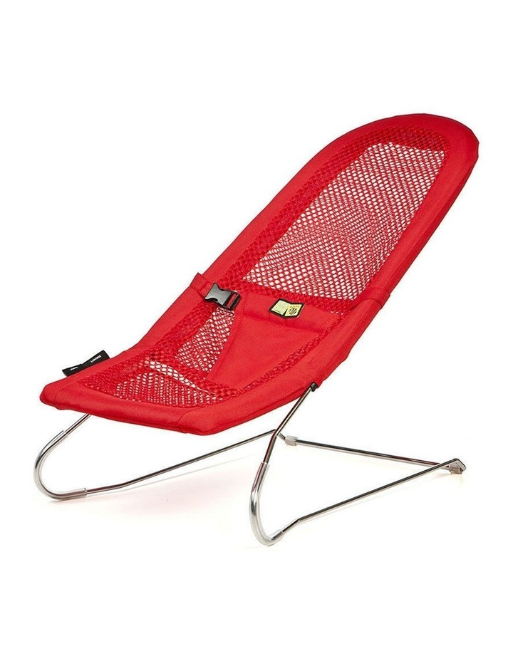 Serenity Red Infant Baby Bouncer Chair image 1