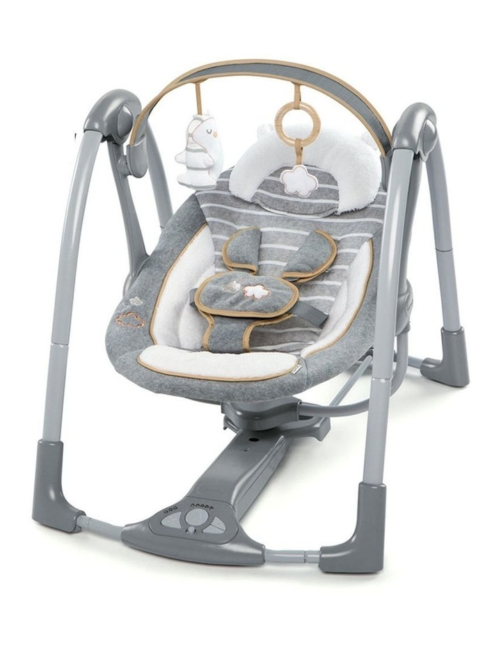 Boutique Collection Swing 'n Go Portable Swing - Bella Teddy image 1