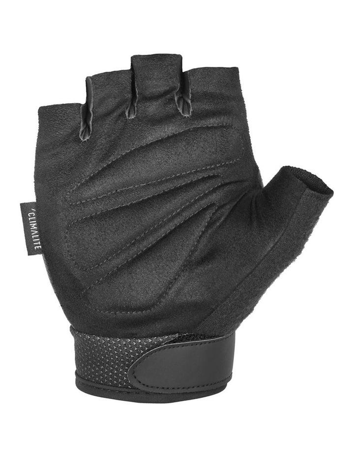 Climate Adjustable Unisex Weight/Gym/Sport XXL Half Finger Gloves BLK/WHT image 4