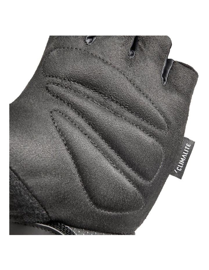 Climate Adjustable Unisex Weight/Gym/Sport XXL Half Finger Gloves BLK/WHT image 5