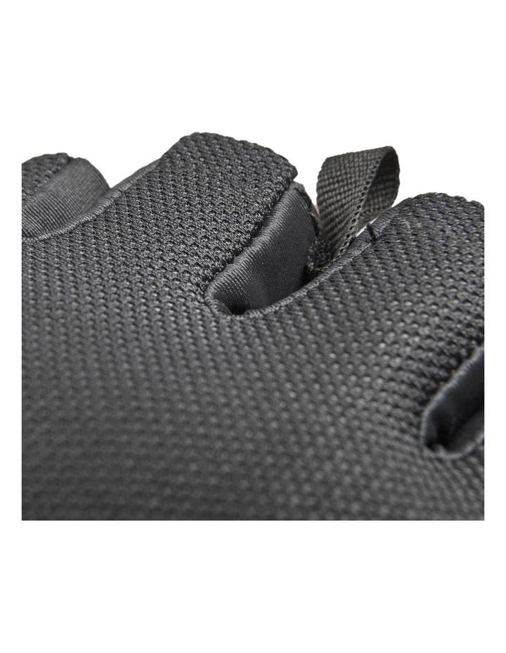 Climate Adjustable Unisex Weight/Gym/Sport XXL Half Finger Gloves BLK/WHT image 6